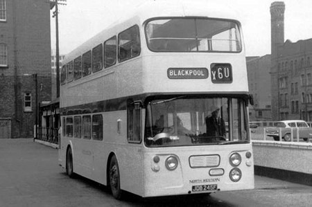 North Western - Daimler Fleetline - JDB 245F - 245