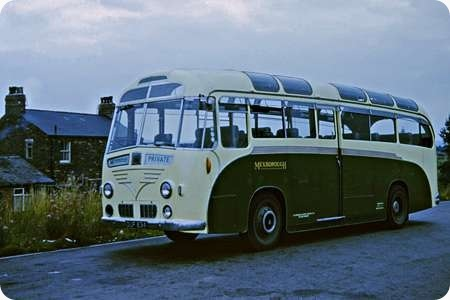 Mexborough & Swinton - Leyland Royal Tiger - OUF 834 - 103