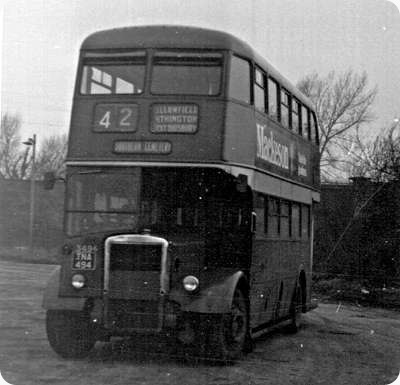 Manchester Corporation - Leyland Titan - TNA 494 - 3494