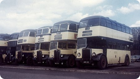 Sheffield Corporation - Leyland Titan - LWE 123 - 623