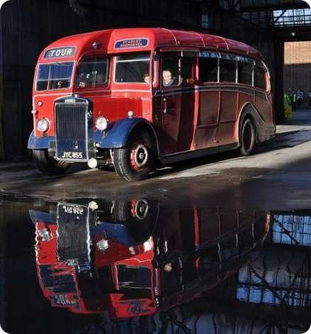 Scarlet Pimpernel Motors - Leyland Tiger - JYC 855