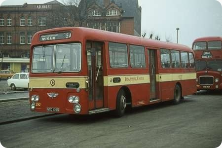 Lancashire United Transport - AEC Swift - NTC 109G - 292