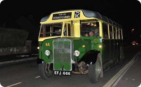 Exeter Corporation - Leyland Tiger - EFJ 666 - 66