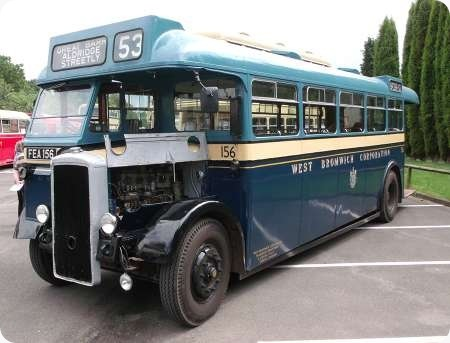 West Bromwich - Daimler CVG5 - FEA 156 - 156