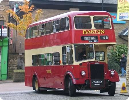 Barton Transport - Leyland Tiger - WAL 782 - 782