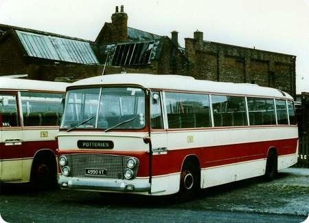 Potteries Motor Traction - AEC Reliance - 4990 VT - 990