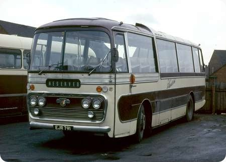 Hunters - Leyland Royal Tiger - EJR 791