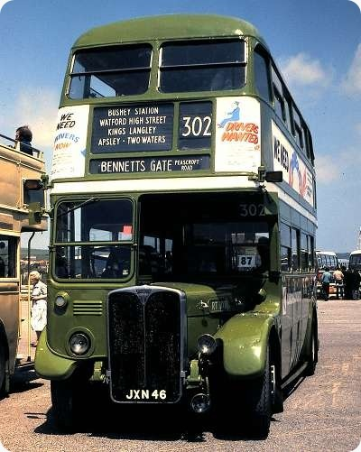 London Transport - AEC Regent III RT - JXN 46 - RT1081