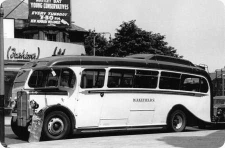 Wakefields Motors - AEC Regal - FT 45?? - 110