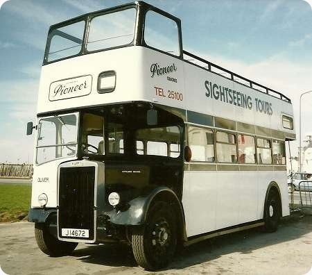 Pioneer Coaches - Leyland Titan PD2 - J 14672 - Oliver