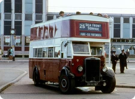 Portsmouth Corporation – Leyland Titan – RV 6358/67 – 5/7