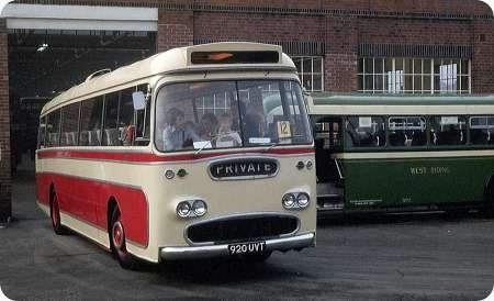 Potteries Motor Traction - Leyland Leopard - 920 UVT - C920 1962