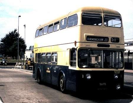 Birmingham City - Daimler Fleetline - BON 541C - 3541