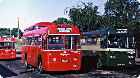 London Transport - AEC Regal IV - MXX 21 - RF 379