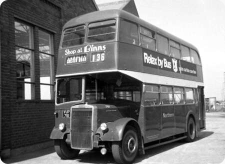 Northern General - Leyland Titan - VUP 761 - 761