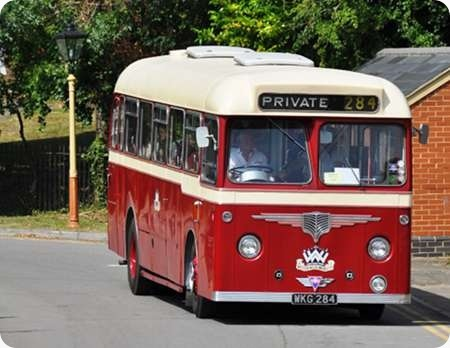 Western Welsh - AEC Reliance - WKG 284 - 1284