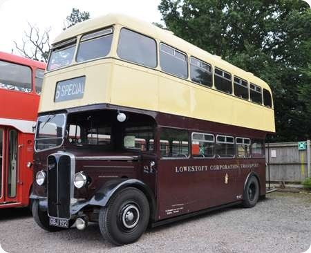 Lowestoft Corporation - AEC Regent II - GBJ 192 - 21
