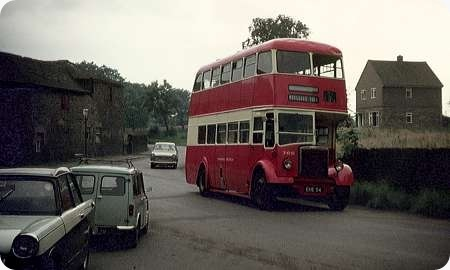 Yorkshire Traction - Leyland Titan PD2 - EHE 54 - 766