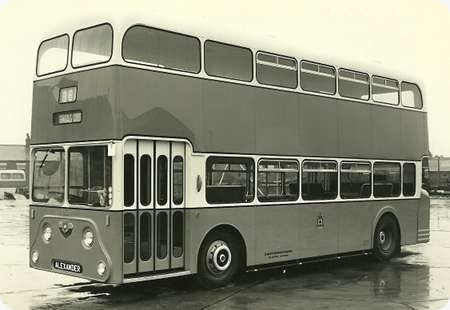 Glasgow Corporation - Leyland Atlantean - FYS 998 - LA1