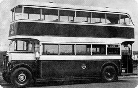 Portsmouth Corporation - Leyland TD1 - RV 715/6 - 7/8