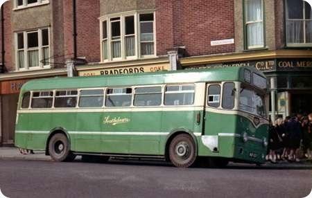 Southdown - Leyland Tiger Cub - MUF 637 - 637
