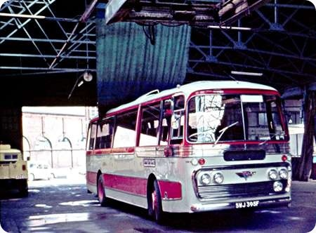 Sheffield United Tours – AEC Reliance – SWJ 395F – 395