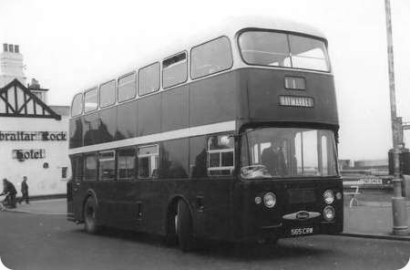 Demonstrator - Daimler Fleetline - 565 CRW