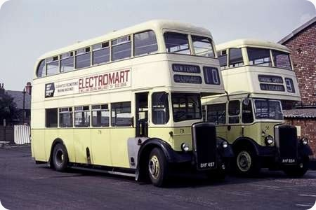 Wallasey Corporation - Leyland Titans - BHF 497/AHF 854 - 78/58