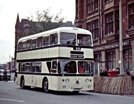 Sheffield Corporation Leyland Atlantean Kwj163d 163