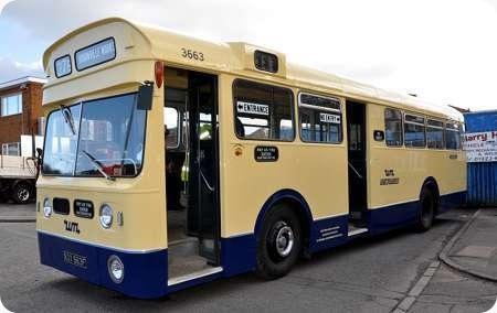 Birmingham City - A E C Swift - KOX 663F - 3663