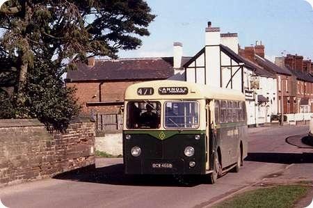 Green Bus Company - Leyland Tiger Cub - BCW 466B