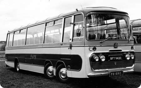 Priory Coaches - Bedford VAL 14 - BFT 942D - 50
