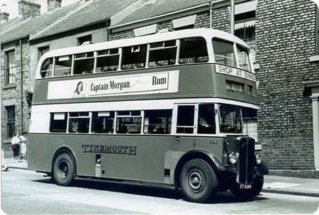 Tynemouth and District - AEC Regent III - FT 6564 - 164