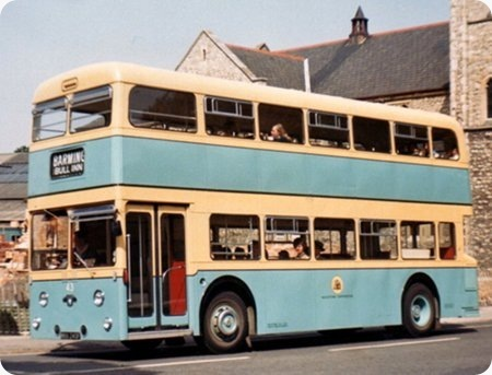 Maidstone Corporation - Leyland Atlantean - NKK 243F - 43