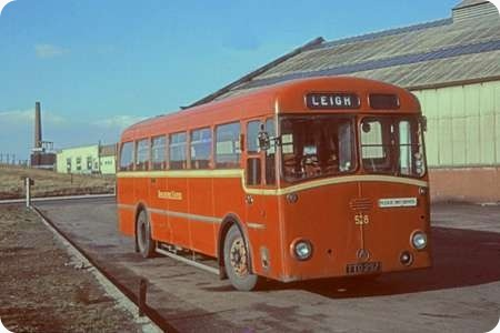 Old Bus Photos » Lancashire United