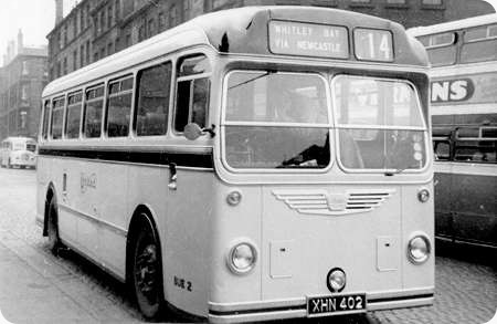 United Automobile - Bristol LS6B - XHN 402 - BUE2