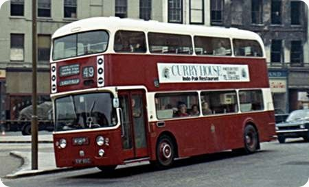 Edinburgh Corporation - Leyland Atlantean - ESF 801C - 801