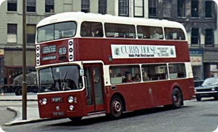Edinburgh Corporation - Leyland Atlantean - ESF 801C - 801