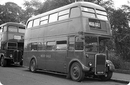 Moor-Dale - Leyland Titan PD2 - KGU 60