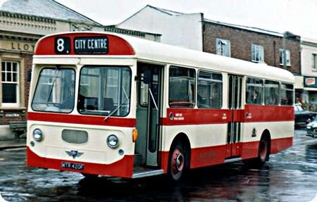 Southampton Corporation - AEC Swift - MTR420F - 2