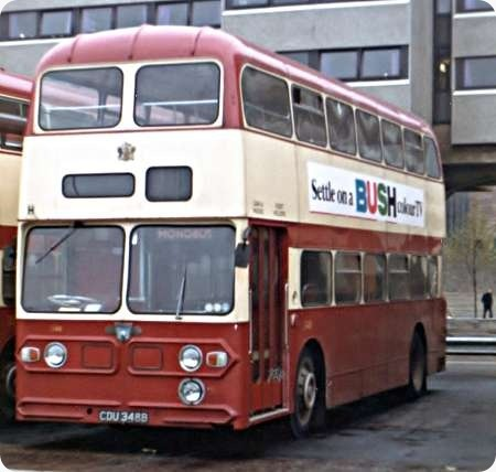 Coventry Corporation - Leyland Atlantean - CDU 348B - 348Coventry Corporation - Leyland Atlantean - CDU 348B - 348