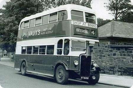 Tynemouth and District - AEC Regent II - FT 6152 - 152