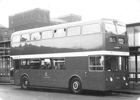 Manchester Corporation - Leyland Atlantean - UNB 629 - 3629