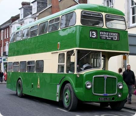King Alfred - AEC Renown - 595 LCG & 596 LCG