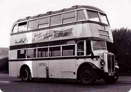 Sheffield Corporation - AEC Regent I - DWB 27 - 27