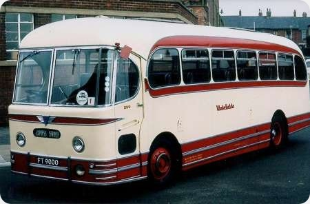 Wakefields Motors - AEC Reliance - FT 9000 - 200