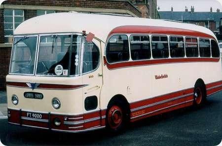 Wakefields Motors - AEC Reliance - FT 9000 - 200