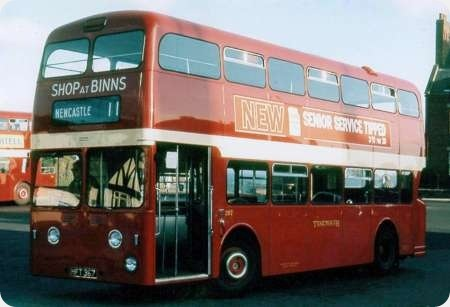 Tynemouth and District - Daimler Fleetline - HFT 367 - 267