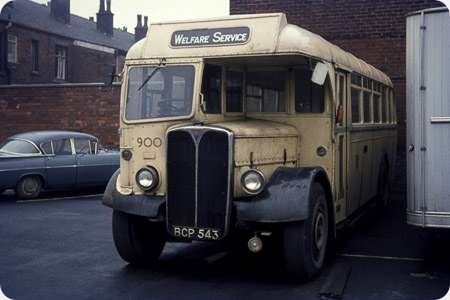 Rochdale Corporation Welfare Dept. - AEC Regal III - BCP 543 - 900