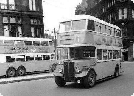 Newcastle Corporation - AEC Regent III - KVK 986 - 86